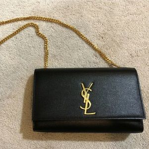 Black YSL Bag. Perfect condition. Worn 3-4 times.
